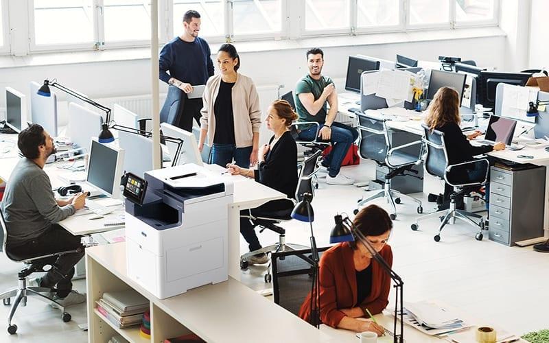 Intelligent Workplace Services – Gestion déléguée des impressions